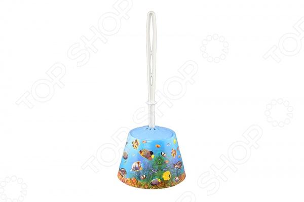 Zakazat.ru: Ёршик для туалета и подставка-конус для детей Violet 1501/79 «Океан»