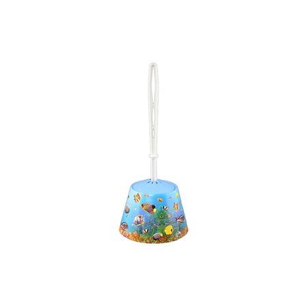 Купить Ёршик для туалета и подставка-конус для детей Violet 1501/79 «Океан»