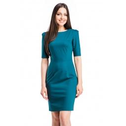 фото Платье Mondigo 5205. Цвет: болотный. Размер одежды: 48