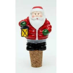 фото Пробка для бутылки Феникс-Презент 38501 «Дед Мороз»
