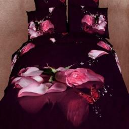 фото Комплект постельного белья Buenas Noches Valensia. Satin Fotoprint. Евро