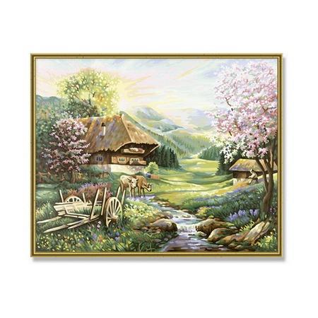 Купить Набор для рисования по номерам Schipper «Весна»