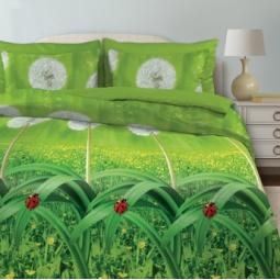 фото Комплект постельного белья Любимый дом «Одуванчики». Евро