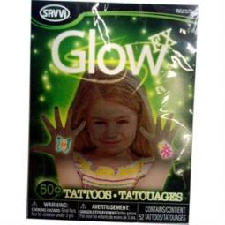 Купить Татуировки временные Savvi светящиеся