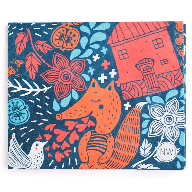 фото Бумажник New wallet Foxes
