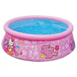 фото Бассейн надувной детский Intex с28104 Hello Kitty