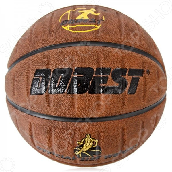 Мяч баскетбольный DoBest PK200Мячи баскетбольные<br>DoBest PK200 представляет собой отличный мяч для игры в баскетбол. Модель изготовлена с применением новейших технологий и с учетом всех особенностей человеческой кисти, что позволяет добиваться невероятных результатов во время матча. Покрытие из высококачественной синтетической кожи впитывает влагу с ладоней, поэтому вы не потеряете контроль над мячом, а глубокие каналы позволяют более четко ощущать пальцами его поверхность. DoBest PK200 изготовлен из 4 слоев и 8 панелей.<br>