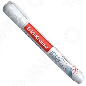 Ручка-корректор Erich Krause Arctic White 2785 станет отличным дополнением к набору ваших канцелярских принадлежностей. Модель выполнена в виде ручки и снабжена тонким металлокерамическим наконечником для более точного и экономного нанесения корректирующей жидкости. Быстро сохнет и не требует надавливания на корпус. Объем корректирующей жидкости составляет 5 мл.
