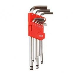 Купить Набор ключей имбусовых длинных с шариком Зубр «Мастер» 27461-2_z02