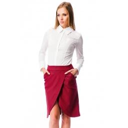 фото Юбка Mondigo 5092. Цвет: красный. Размер одежды: 42