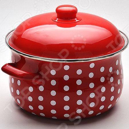 Кастрюля с крышкой Mayer&Boch «Горох» посуда кухонная