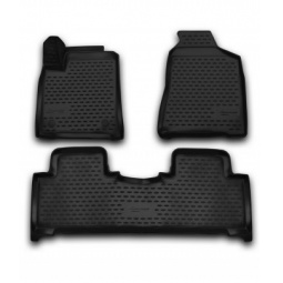 Комплект 3D ковриков в салон автомобиля Novline-Autofamily BMW Series 5 F10 2010-2013 - фото 6