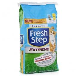 фото Наполнитель для кошачьего туалета Fresh Step «Тройной контроль запахов». Вес упаковки: 9,52 кг