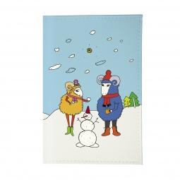 фото Обложка для паспорта Mitya Veselkov «Семья овечек»