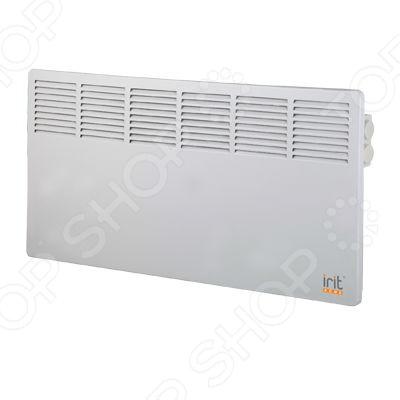 Конвектор Irit IR-6208Конвекторы<br>Конвектор Irit IR-6208 классический электрический обогреватель конвекторного типа, который станет прекрасным решением для дополнительного обогрева квартиры, офисного помещения, детской комнаты, гаража, ванной комнаты или загородного дома в холодное время года. Функциональная конструкция прибора направлена на равномерное распределение тепла. Работа прибора устроена по принципу естественной конвекции, то есть холодный воздух проходит через нагревательный элемент, нагревается и выходит сквозь решетки. Конвектор оснащен алюминиевым теплообменником, который гарантирует долговечность и качественную службу устройства. Дополнительным преимуществом является 2 уровня нагрева в 900 Вт и 1800 Вт. Это позволяет выбрать наиболее оптимальный для вас режим работы обогревателя. Компактный и практичный обогреватель станет надежным источником тепла, а его простой, сдержанный дизайн прекрасно впишется в интерьер любого дома. Данная модель предусматривает возможность установки на стену. Конструкция дополнена сушилкой для белья и увлажнителем.<br>