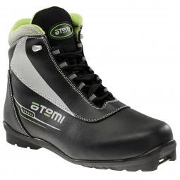 фото Ботинки лыжные ATEMI A303. Цвет: черный. Размер: 39