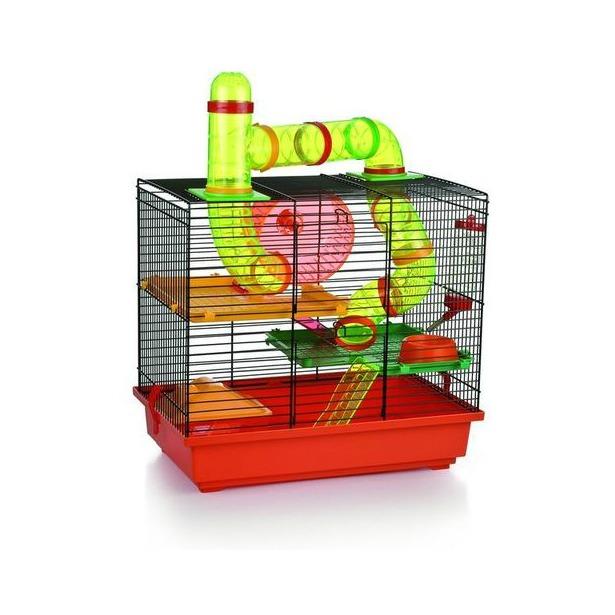 фото Клетка для грызунов Beeztees Rocky с игровым комплексом