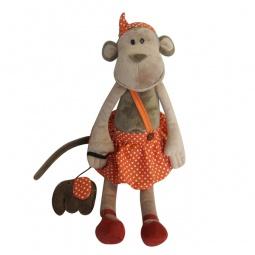 фото Мягкая игрушка Maxitoys «Обезьянка Вика со слоником»