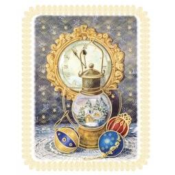 фото Пленка декоративная для окна Феникс-Презент 38626 «Новогодняя лампа»