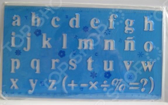 Линейка Beifa «Латинский алфавит». В ассортименте