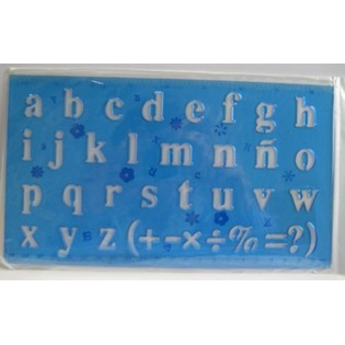 Купить Линейка Beifa «Латинский алфавит». В ассортименте