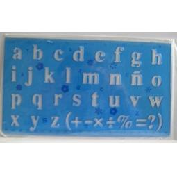 фото Линейка Beifa «Латинский алфавит». В ассортименте