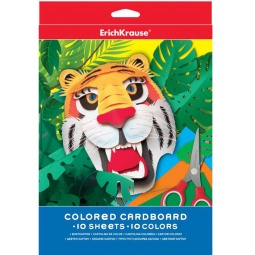 Купить Набор картона цветного Erich Krause 37199