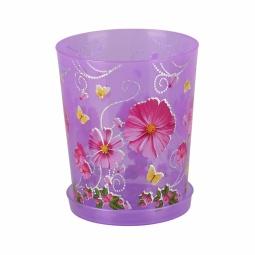 фото Горшок для орхидей Альтернатива. Цвет: фиолетовый. Объем: 1,2 л
