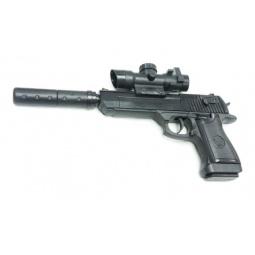фото Пистолет игрушечный Shantou Gepai ES882-F128A+