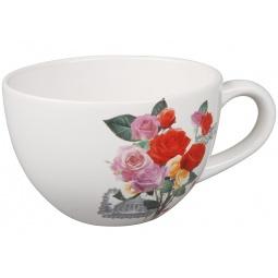 фото Бульонница Rosenberg 8831. Рисунок: розы разноцветные