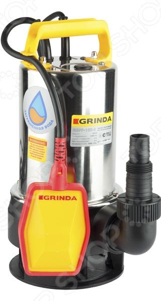 Насос погружной для грязной воды Grinda GSPP-235-8 погружной насос al ko для грязной воды drain 15000 inox