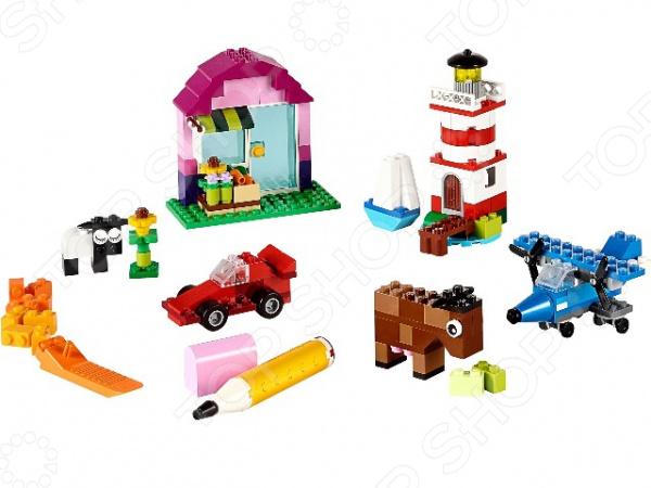 Конструктор LEGO 10692Конструкторы LEGO<br>Конструктор Lego 10692 обязательно понравится ребенку. Он сможет самостоятельно собрать целую композицию, с которой потом можно будет играть. Играя с конструктором, ребенок будет развивать пространственное и логическое мышление, творческие способности и мелкую моторику рук. Кроме того, с получившейся игрушкой он сможет самостоятельно придумывать различные игровые ситуации, развивая тем самым и фантазию. Этот набор отличный выбор для начинающих строителей всех возрастов. Из классических деталей 29 различных цветов, а также дополнительных деталей дверей, окон, колес, глаз, пропеллеров ребенок сможет создать свой собственный город с жителями.<br>