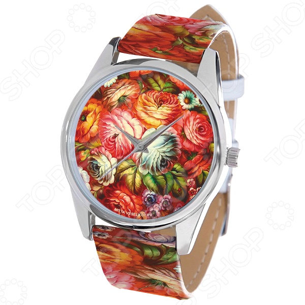 Часы наручные Mitya Veselkov «Жостово-2» ART цена и фото