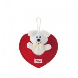 Купить Мягкая игрушка Trudi Собачка в сердечке