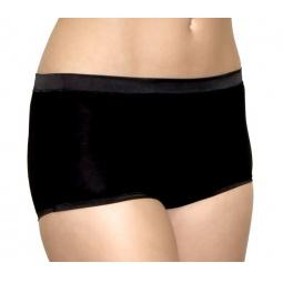 Купить Трусики шорты с атласной отделкой BlackSpade 1401. Цвет: черный