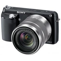 фото Фотокамера цифровая SONY Alpha NEX-F3 Kit. Цвет: черный