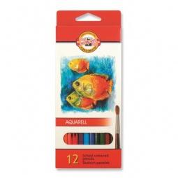 фото Набор карандашей акварельных Koh-I-Noor «Рыбки»: 12 цветов