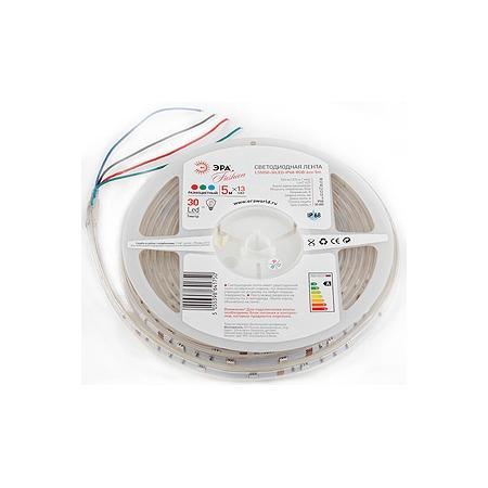 Купить Лента светодиодная Эра LS5050-30LED-IP68-RGB-eco-5m