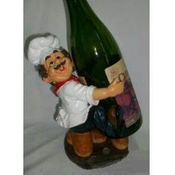 фото Подставка для вина Drivemotion Повар с бутылкой перед собой