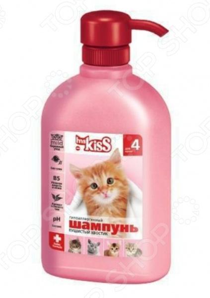 Шампунь для котят Ms.Kiss «Пушистый хвостик»