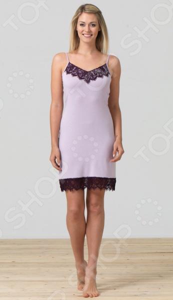 Сорочка ночная BlackSpade 5730. Цвет: лиловый