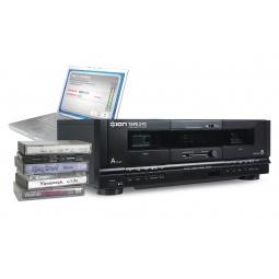 фото Двухкассетный USB-конвертор аудиокассет в MP3 ION Tape2PC