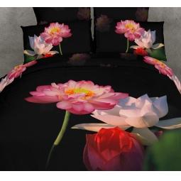 фото Комплект постельного белья Buenas Noches Lotos. Satin Fotoprint. 2-спальный