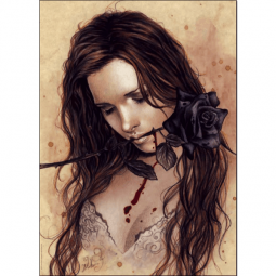 фото Пазл 1000 элементов Heye «Темная роза»