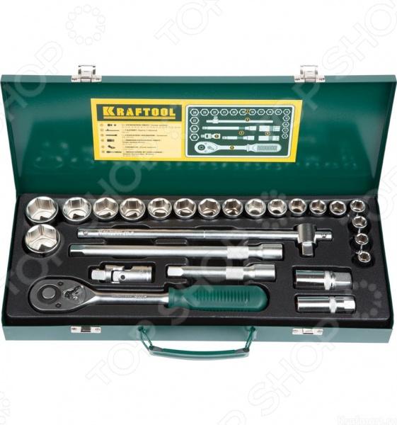 Набор торцевых головок Kraftool Industrie Qualitat 27892-H25_z01 пистолет для герметика kraftool industrie 06673 z01