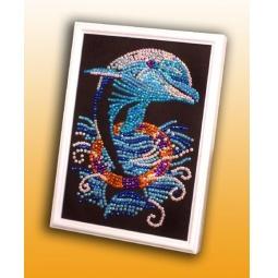 фото Мозаика из пайеток Волшебная мастерская «Дельфин» 011