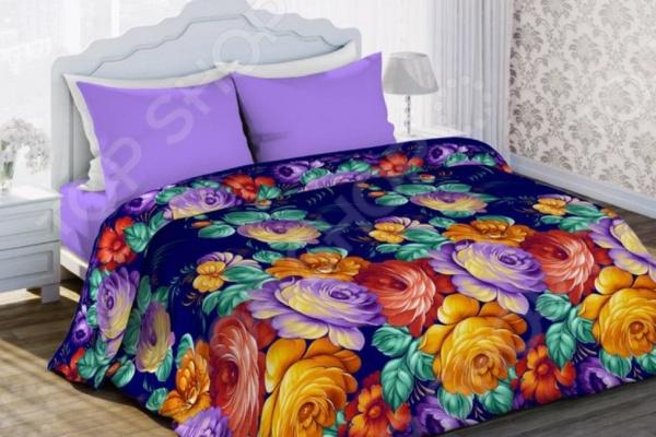 Комплект постельного белья Любимый дом «Жостово» комплект постельного белья любимый дом комплект постельного белья лебеди любимый дом 1 5 спальный 2 наволочки 70х70 см хлопок
