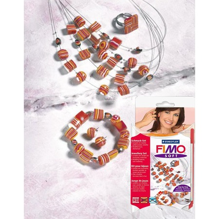 Купить Набор для создания украшений Fimo Soft «Красные мечты»