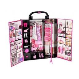 фото Шкаф для одежды игрушечный Mattel Стиль Barbie