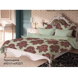 фото Комплект постельного белья Волшебная ночь «Геральдина». 1,5-спальный. Размер наволочки: 40х40 см, 70х70 см — 2 шт. Тип ткани: сатин-роял